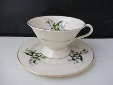 "FINE ARTS LILY OF THE VALLEY  CUP & SAUCER  2 1/2"" -1207J"