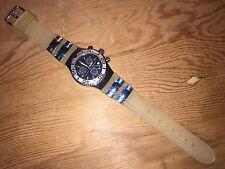 Orologio Watch Montre AQUAMARIN Sea Star Black Steel Rubber - NO FUNZIONA