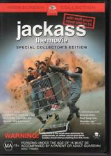 JACKASS THE MOVIE - DVD R4 Special Collector's Edition - LIKE NEW - FREE POST