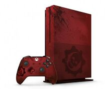 Red Xbox One S 2TB Gears of War 4 Limited Edition Bundle Set Wireless Video Game