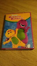 Barney - Numbers, Numbers (DVD, 2004) ~ Barney the Purple Dinosaur