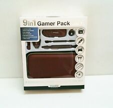 New Burgandy dreamGEAR Nintendo DSi XL 9 in 1 Starter Kit Case Stylus Earbuds