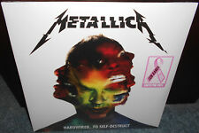PINK VINYL Metallica Hardwired To Self-Destruct 2-LP New Sealed 10 Bands 1 Cause
