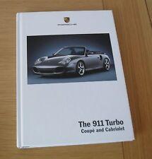 Porsche 911 996 Turbo Hardback Brochure 2003-2004 - Coupe & Cabriolet