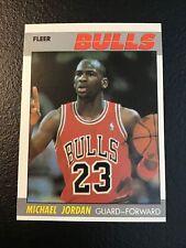"""*1987-88 Fleer #59 Michael Jordan 2nd year """"ORIGINAL"""" NM+"""