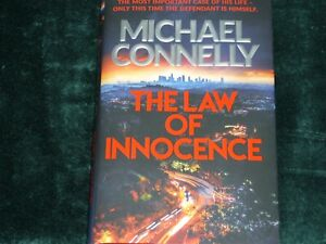The Law of Innocence by Michael Connelly. Hardback in like new condition