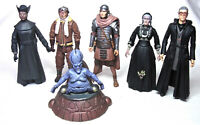 "DOCTOR WHO FIGURES BUNDLE six CHARACTER 5.5"" SEIRIES Hawthorne Roman Cat"