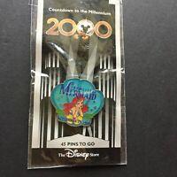 DS Countdown the Millennium Series #46 The Little Mermaid Ariel Disney Pin 705