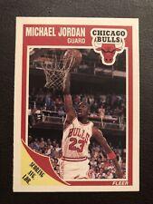 1989-90 Fleer Michael Jordan All-Star Sticker #21 Chicago Bulls