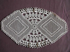 #1066 Beautiful Vintage Hand Made Table Runner 45cm/26cm(18''x 10'')