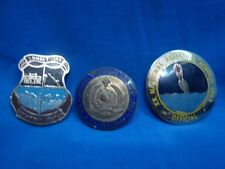 4 old vintage Metal National Aquastics Medals From India 1963