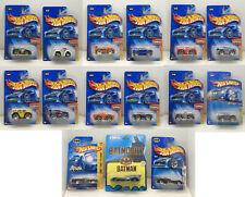 Lot of 15 Die-Cast Cars in Package.  Hot Wheels ERTL Batmobiles FREE SHIPPING