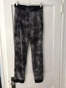 old navy boy cotton blend gray camo drawstring pull up jogger pants size XXL 18