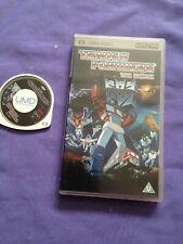 Transformers The Movie Psp Umd Video - rare