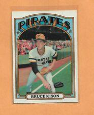 Bruce Kison Piratas Topps 1972 Tarjeta #72
