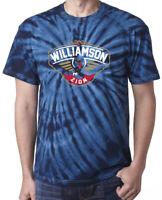 """Tie-Dye Zion Williamson New Orleans """"LOGO"""" T-Shirt"""