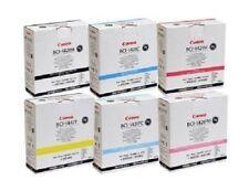 6 original tinta Canon w-8200p/bci-1421bk bci-1421y 1421m 1421c 1421pc 1421pm