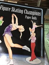 Figure Skating Champions Paper Dolls by John Axe Set of 2 New