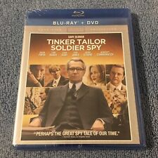 Tinker, Tailor, Soldier, Spy (Blu-ray/DVD, 2012, 2-Disc Set) Brand New Sealed