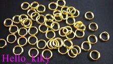 1000 pcs Gold plated split rings 5mm M271