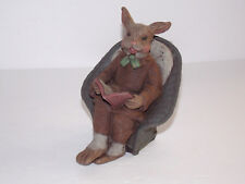 Sarah'S Attic - Higgins - 1992 - Male Rabbit on a Chair Reading