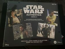 2019 Topps Star Wars Authentics Series 2 Autographed Photo Sealed Hobby Box Card