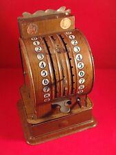 Magnifique jouet ancienne caisse enregistreuse tôle CIS 14 juillet 1928 RARE !!!