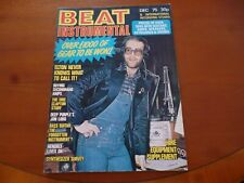 BEAT INSTRUMENTAL DECEMBER 1975 ELTON JOHN, PHIL LYNOTT, TODD RUNDGREN *AS PICS*