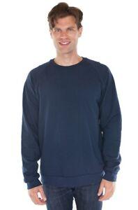 Men's 100% Organic Cotton-Raglan Crew Neck Sweatshirt 21053ORG