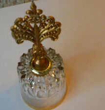 Beautiful Gold Glass Bell West Germany