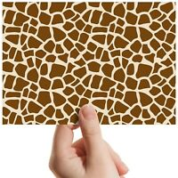 "Giraffe Pattern Wild Zoo - Small Photograph 6"" x 4"" Art Print Photo Gift #14483"