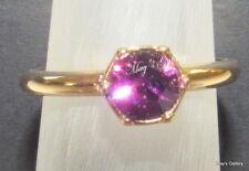 lolaandgrace SWAROVSKI  Rings Band Ring Crystal Gold  NWT size 7 55 M 5182813