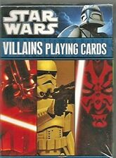 Star Wars Villians Playing Cards Disney Deck of Cards NEW Sealed
