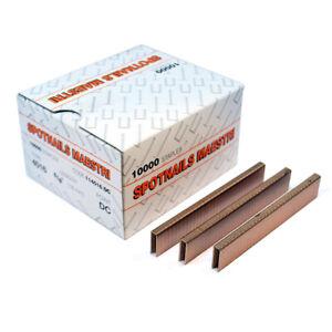 Spotnails 4000 Divergent Carpet Fitting Staples 10,000 Pk 16/20mm 4016 / 4020