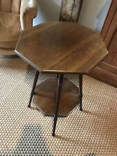 More details for pretty art nouveau/ arts and crafts mahogany table c.1900