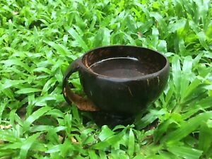 Coconut Shell Cup Eco-friendly Handmade Tea cup water cup arrack cup  coffee mug