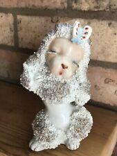 Vintage Beautiful Poodle Figurine/pen Holder/collectablle Dog Ornament