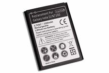 Akku für Samsung Galaxy Note 2 / GT-N7100 Accu - Batterie HÄNDLER NEUWARE