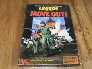 Victory Games Move Out Ambush Module Unpunched