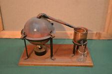 Piccolo alambicco distillatore con accessori - mai usato