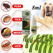 8ml Pets Dog Cat Anti-flea Drops Insecticide Flea Lice Insect Killer Liquid Oma
