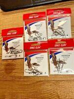 182 Size 2//0 Brand New Free Shipping 100 Total Eagle Claw Steelhead Hooks No