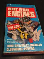 Hot Rod Engines Book 1967 Vintage Book Soft Cover Car Auto SH2
