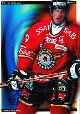 2002-03 Swedish Elitset Dynamic Duos #7 Petter Nilsson, Stefan Nilsson