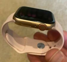 Apple Watch SE (GPS + Cellular, 44mm) - Gold Aluminum Case with Pink Sand Sport