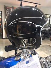 Genuine Harley Davidson open face helmet black elite black 98354-15az/002s XS