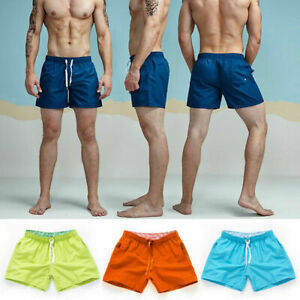 Mens Shorts Summer Quick-drying Beach pants Stretch Sports pants Fitness surf
