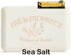 Pre de Provence SEA SALT 150 Gram French Soap Bath Shower Bar Shea Butter Ocean
