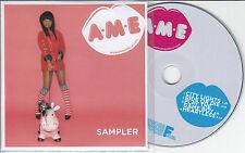 A*M*E Sampler 2012 UK 4-track promo test CD AME A M E A-M-E A.M.E
