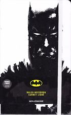 Moleskine Ruled Notebook, Batman, White, 240 Lined Pages, Acid Free